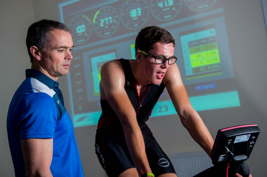 geraint-and-guto triathlon training